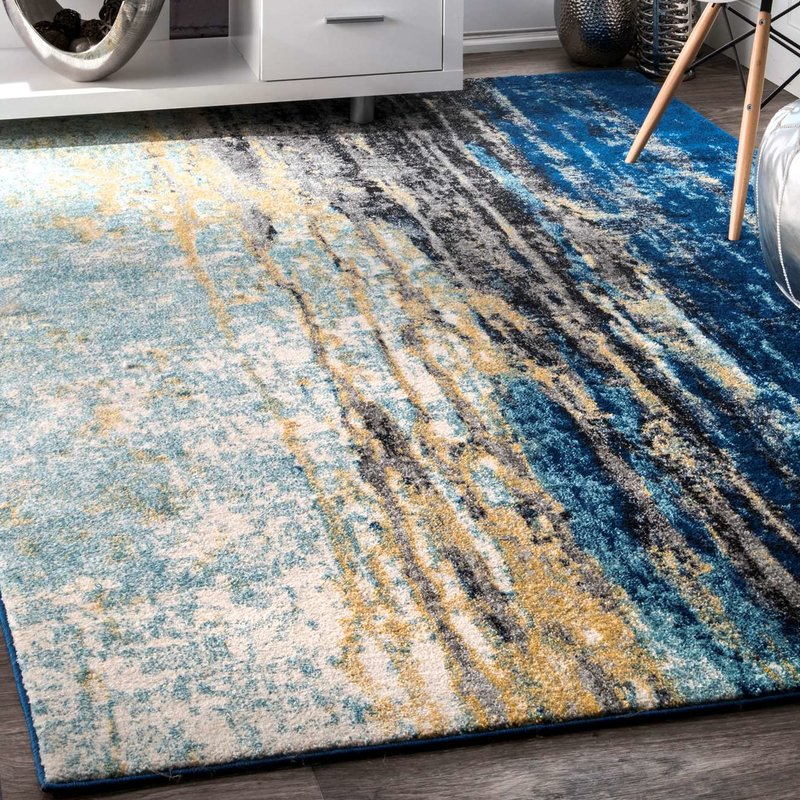 blue area rugs stevensville blue area rug TOFIUHK
