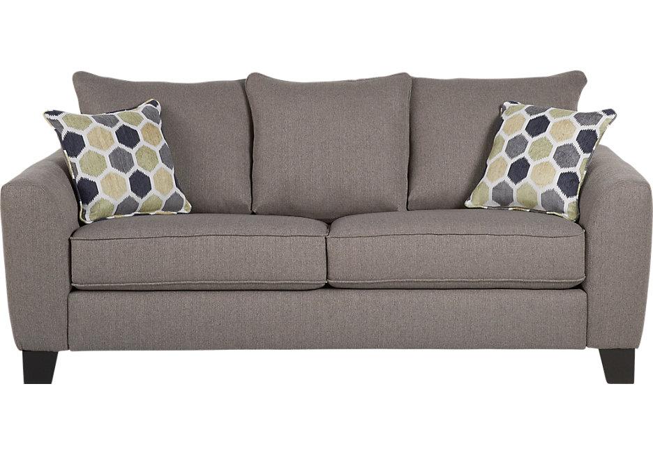 bonita springs gray sleeper sofa - sleeper sofas (gray) POYZVSS
