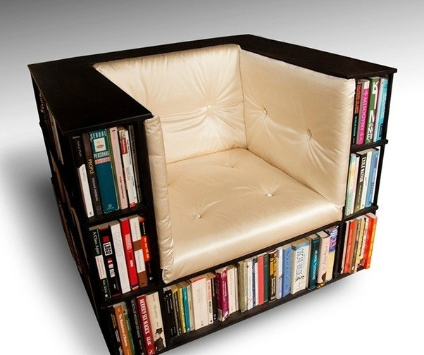 bookshelf design reading in this must be like sitting in with all your HFWYUTD