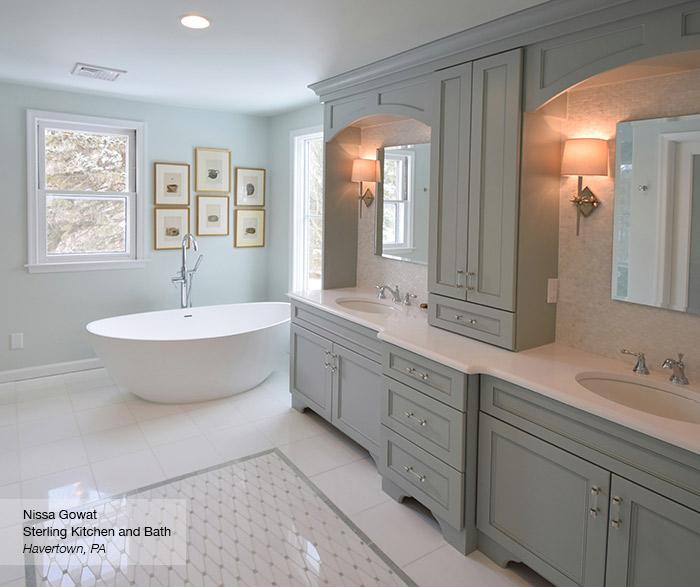 brentwood master bath cabinets in maple rain ... OCHDEYI