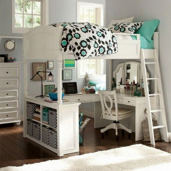 bunk beds with desk awesome loft beds with desk for teens resized | loft | GDFSVAJ