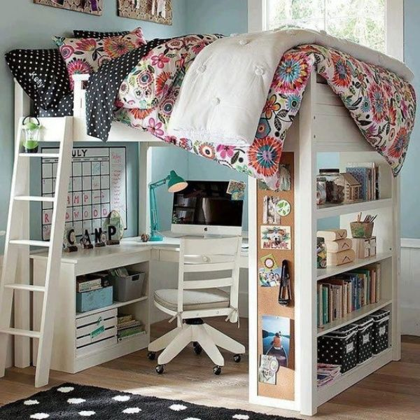 bunk beds with desk bunk beds with desks 20 loft beds with desks to save XZOGUXY