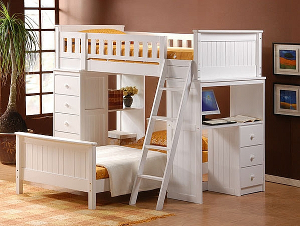 bunk beds with desk loft beds with desks underneath photo details - these ideas we MMDPNIH