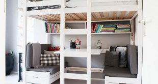 bunk beds with desk loft beds with desks underneath photo details - these image we SPRHSGK