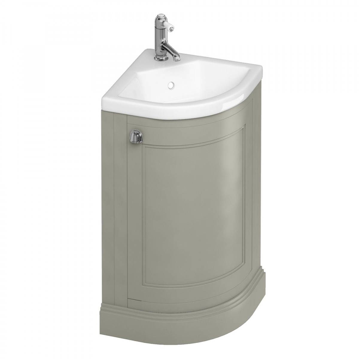 burlington freestanding corner cloakroom vanity unit XGKOAZY