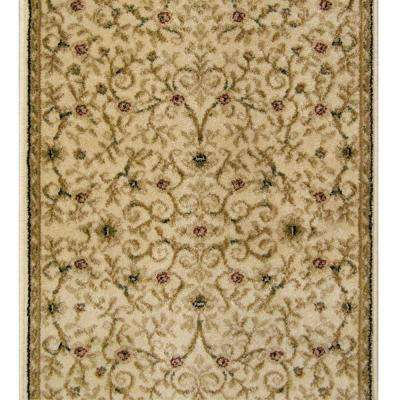canyon leyla ivory 26 in. x 50 ft. stair runner ESGTJJA