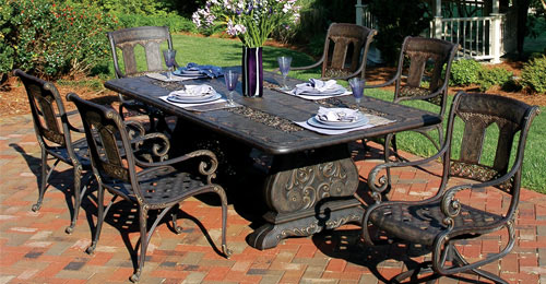 cast aluminium garden furniture - 2 OKKARWP