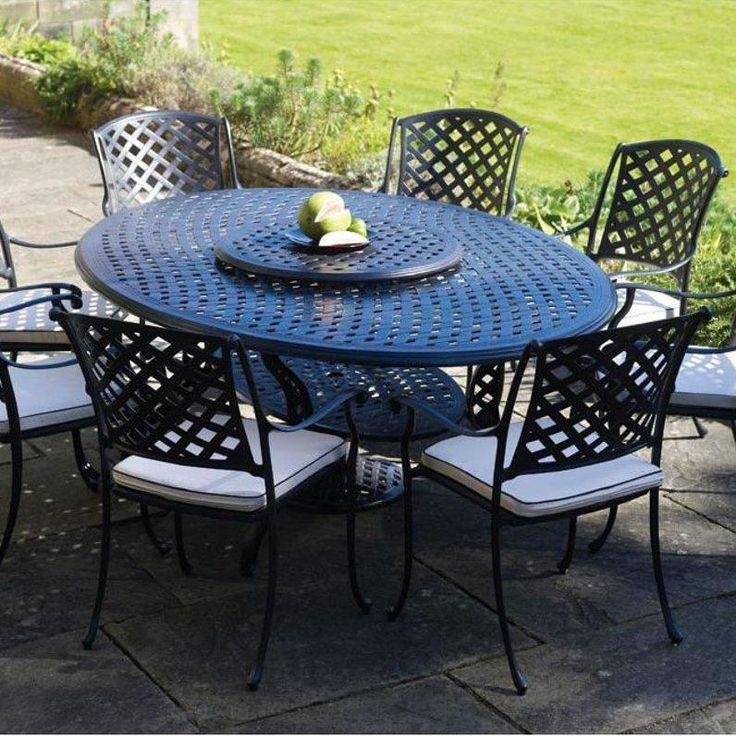 cast aluminium garden furniture elegant classy cast aluminum outdoor furniture: turin elliptical cast  aluminum QVRDHVG