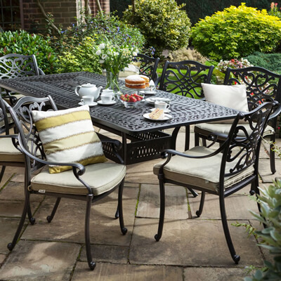 cast aluminium garden furniture RKNMLQC