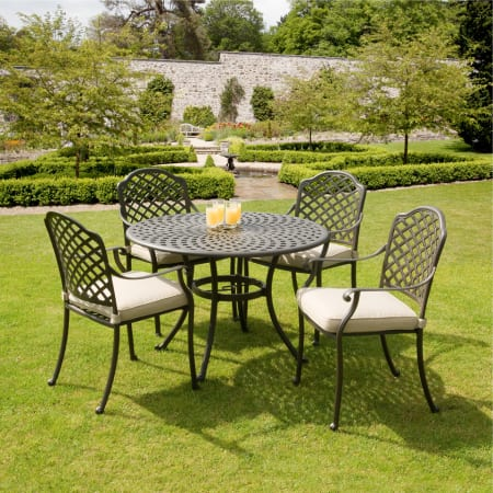 cast aluminium garden furniture suntime buckingham 1m cast aluminium patio furniture set IKLDJQS