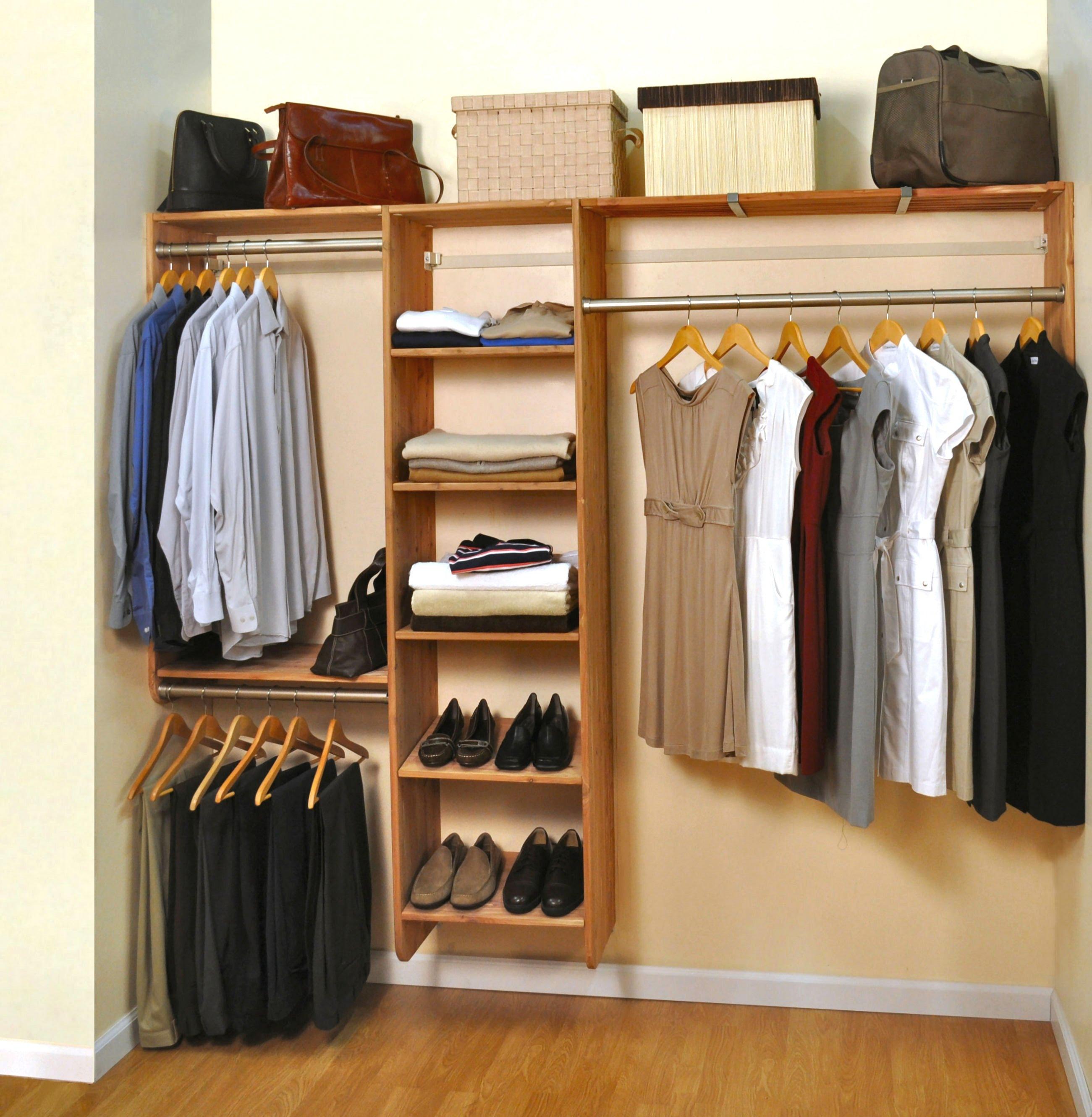 cedar closet storage system ECDERBU