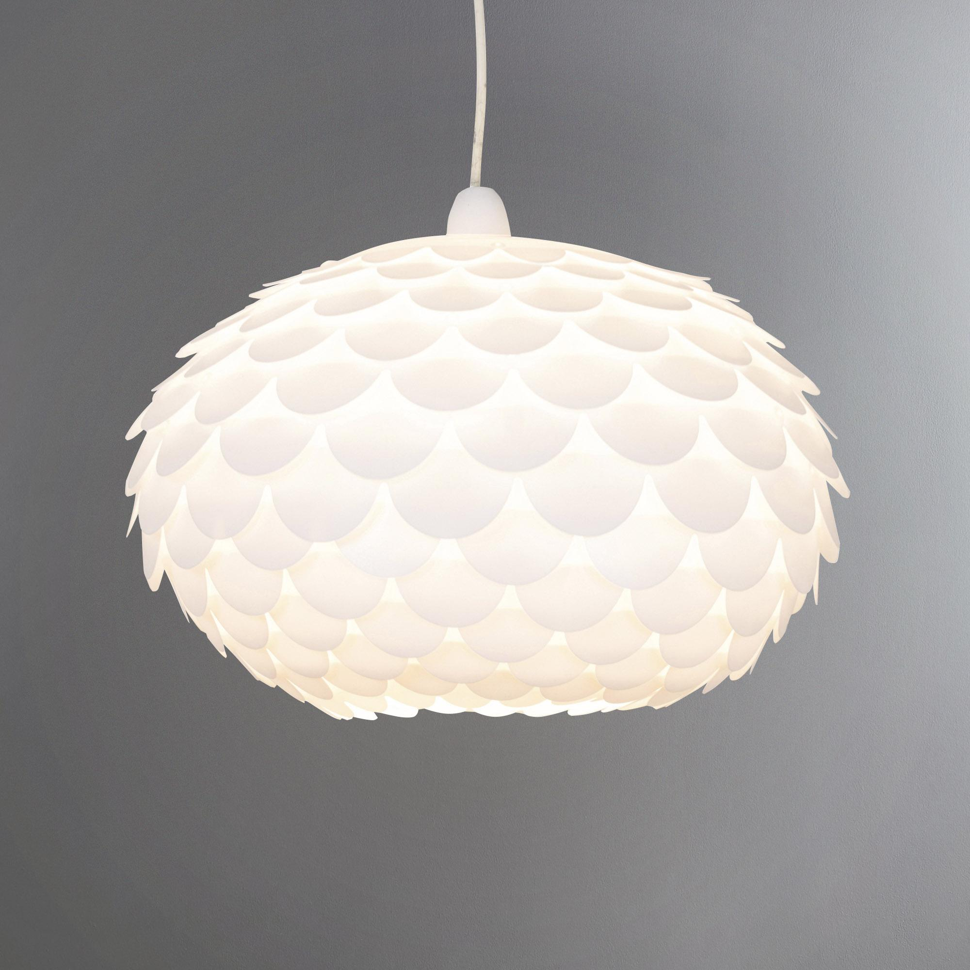 ceiling light shades priya white easy fit pendant shade TQHJDFD