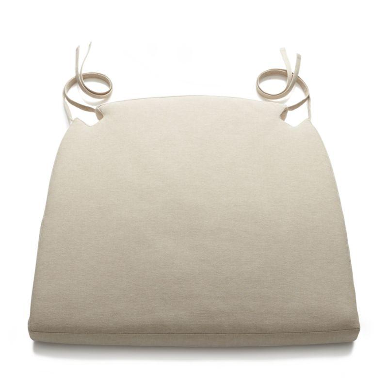 chair cushions harper sand chair cushion + reviews | crate and barrel NBXESOL