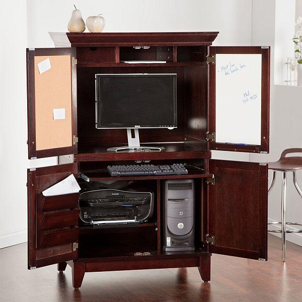 chic computer armoire JXWRHOH
