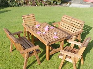 childrens garden furniture image is loading wooden-childrens-patio-set-outdoor-garden-furniture FRLXSZE