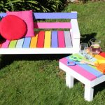Exciting and funny furniture for children's garden