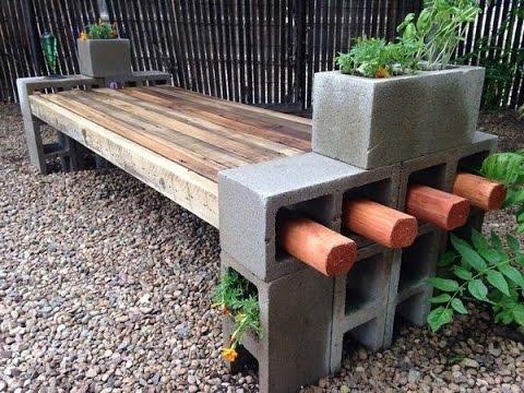 cinder block bench inspiring cinder block benches VCYBOGQ