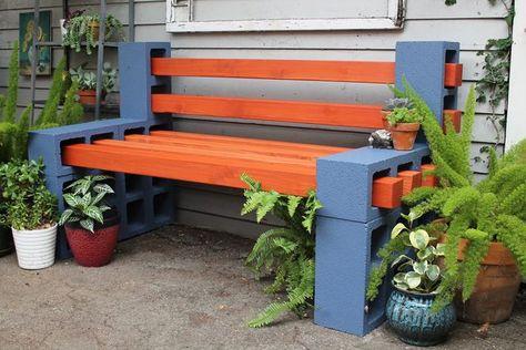 cinder block bench this ... AGBUNDE