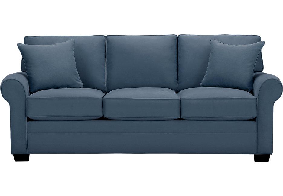 cindy crawford home bellingham indigo sleeper - sleeper sofas (blue) KDGHKRL