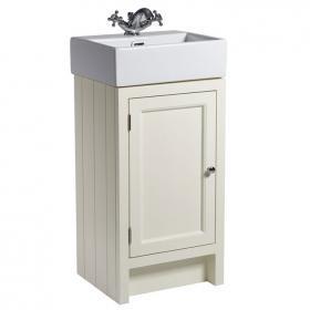 cloakroom vanity unit roper rhodes hampton 400mm vanilla cloakroom unit u0026 basin DMFIRXZ