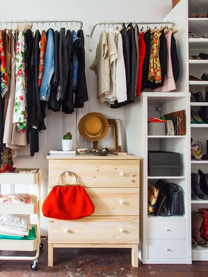 closet makeover ideas closet organization ideas - clothing storage solutions QLWSOOL