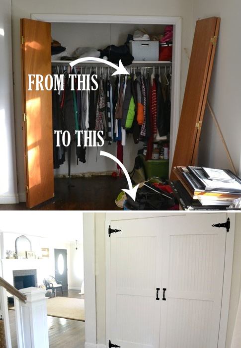 closet makeover ideas makeover: closet door ideas AXTMEUC