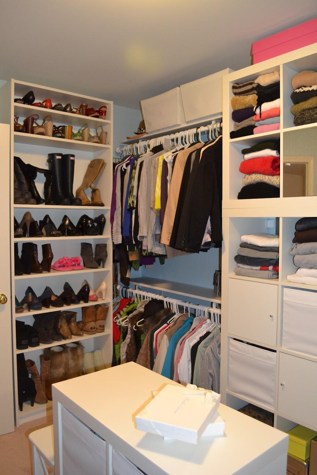 closet makeover ideas the penny parlor: master closet makeover HZRBGRD