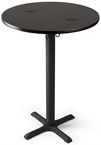 cocktail tables wireless charging cocktail table with mocha walnut finish ... UZRWIPZ