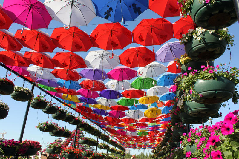 colorful garden umbrellas download colorful umbrella pathway stock image. image of spring - 36386473 UKBUVZB