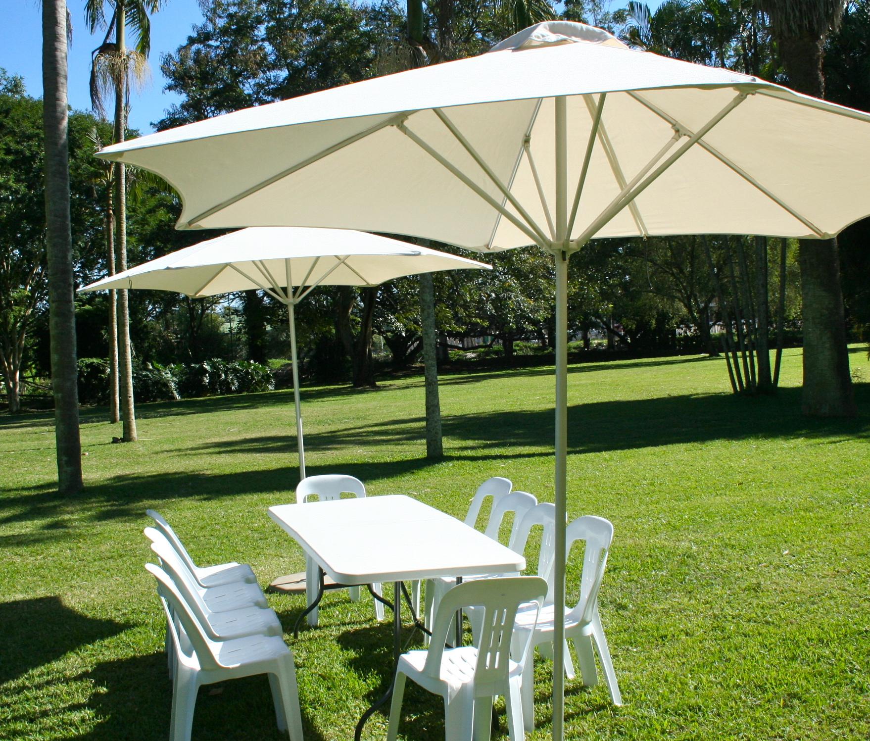 colorful garden umbrellas make your patio attractive by using a colorful garden umbrella - ETMIDNG