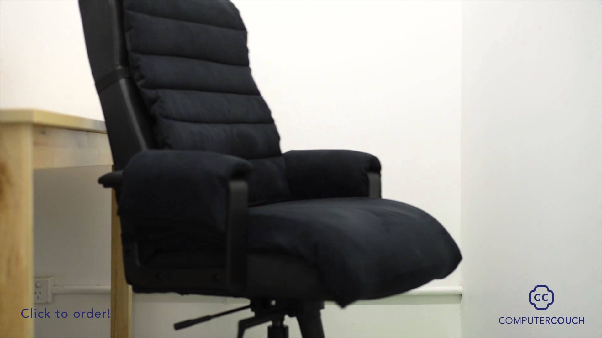 comfortable computer chairs computer couch: turn your computer chair into a comfortable couch. - ZLZSVUU