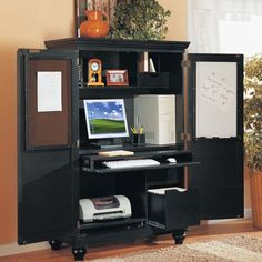 computer armoire work station desk comes in cream u003eu003eu003eu003e you need ETBUOMN