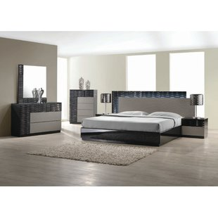 contemporary bedroom sets kahlil platform 5 piece bedroom set MHAIEJB