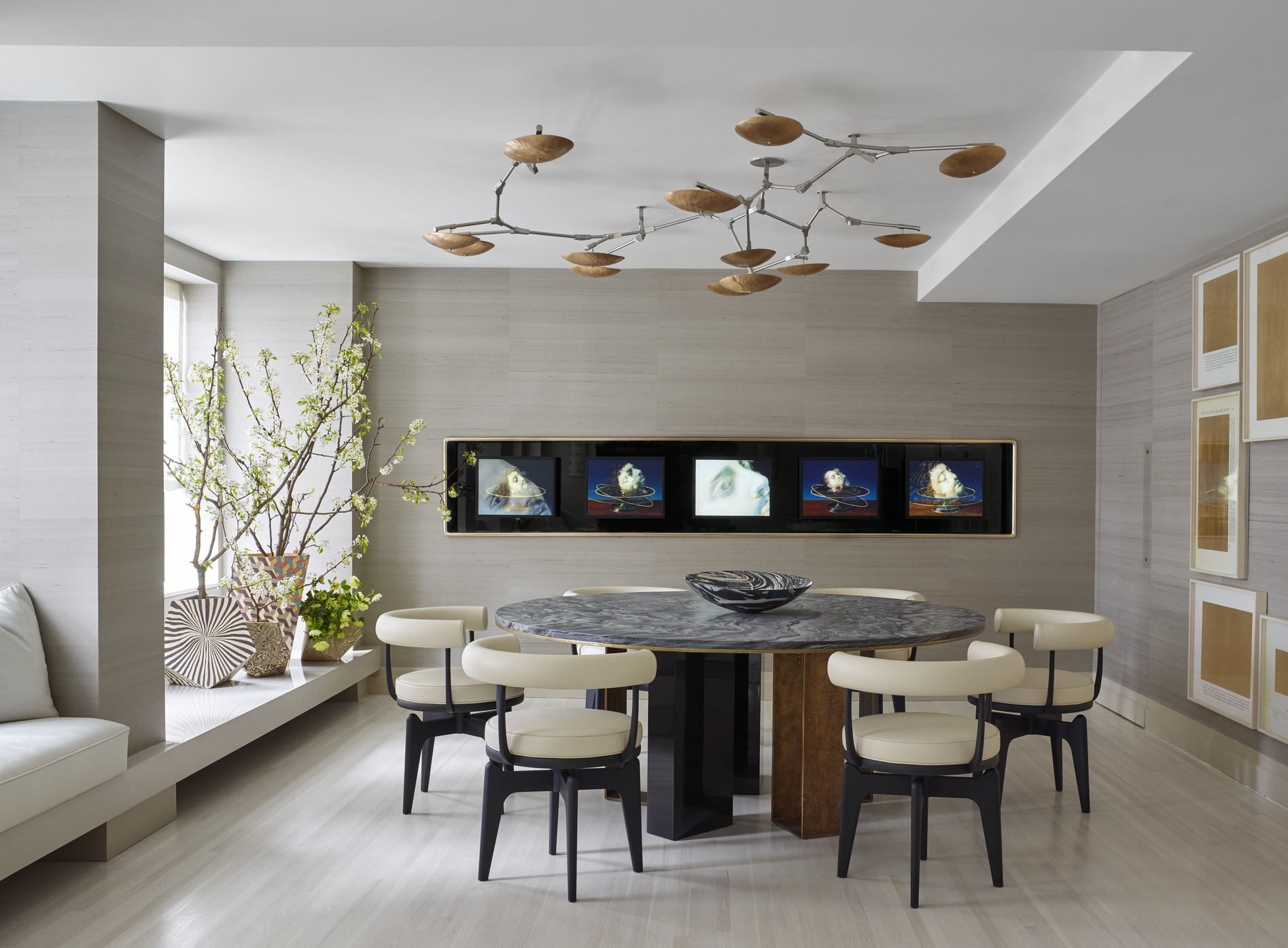 contemporary decorating ideas ... glamorous modern dining room design 2 25 decorating ideas contemporary QPEXHCP