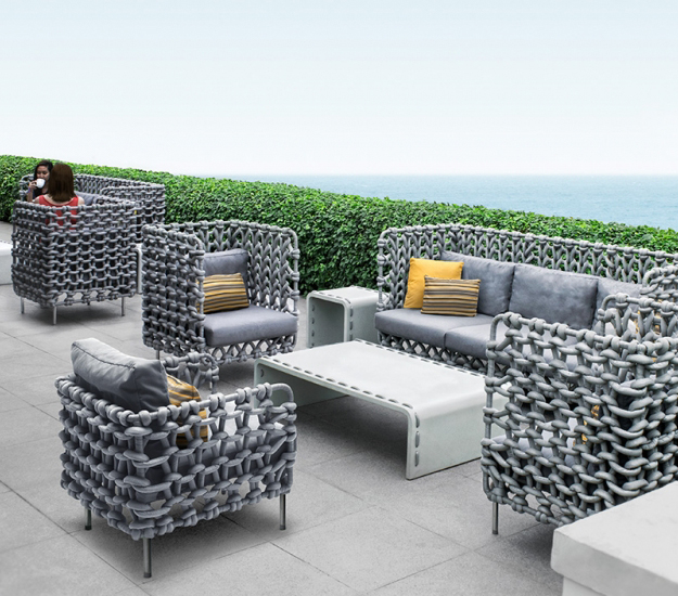contemporary outdoor furniture kenneth cobonpue outdoor furniture VXLCQJU