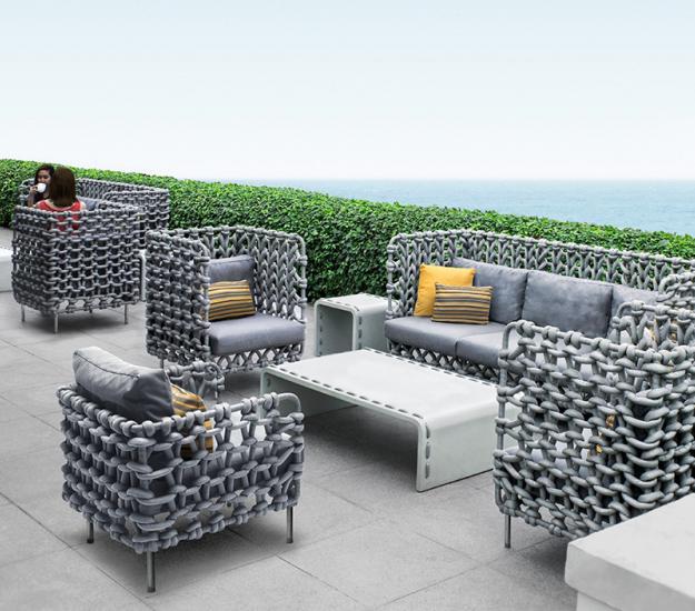 contemporary outdoor furniture kenneth cobonpue outdoor furniture VXLCQJU