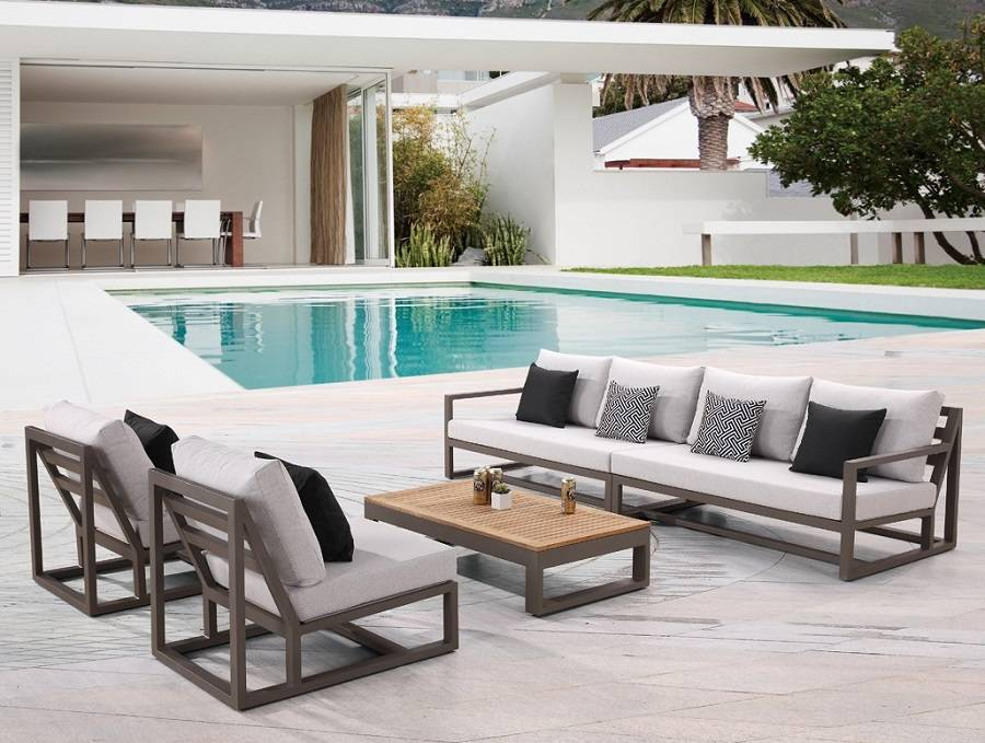 contemporary outdoor furniture tribeca collection UBDJKVI