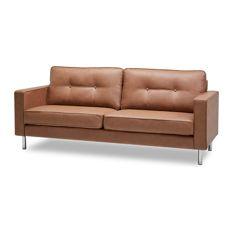 contemporary sofa fat june - ibiza sofa, tan - sofas XJXGLTV