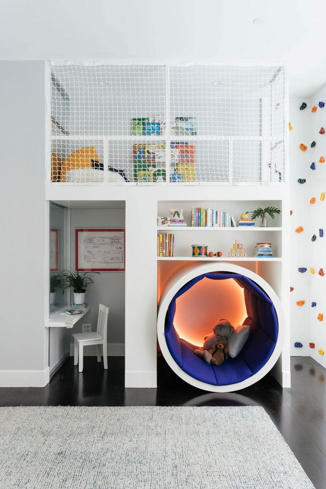 cool kids room ideas this colorful kidsu0027 room has a climbing rock wall. room ideas LVOXRJE