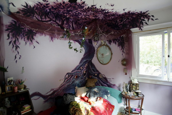 cool wall murals awesome-tree-wall-murals XNCYHHO