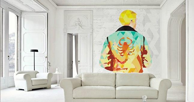 cool wall murals polygon art movie wall murals | cool material VCIIXSP