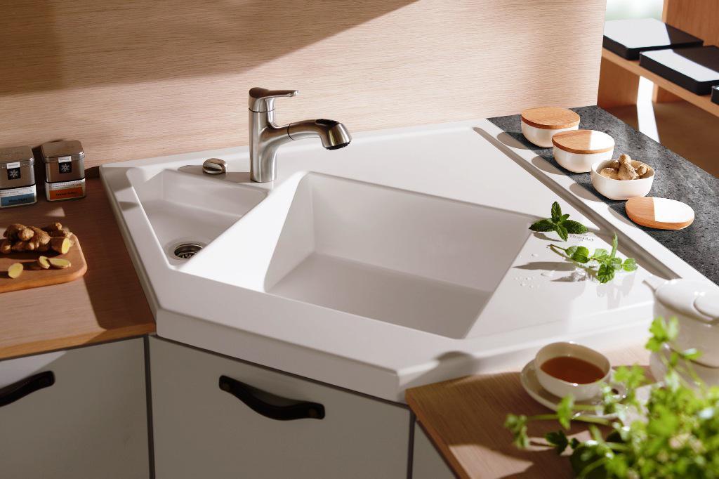 corner kitchen sinks undermount white corner kitchen sink picture IPIPVBR