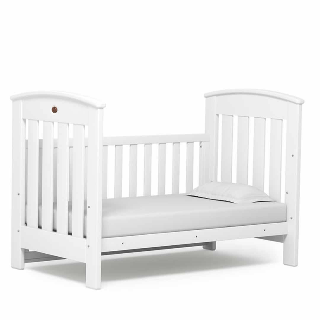 cot beds boori classic cot bed - white - natural baby shower CLSNAPJ