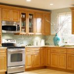 Beautiful Oak kitchen cabinets