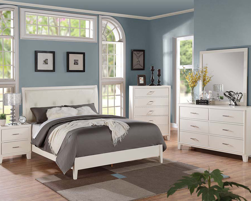 cream bedroom furniture contemporary cream bedroom set tyler by acme furniture ac22540set AFKZGXH