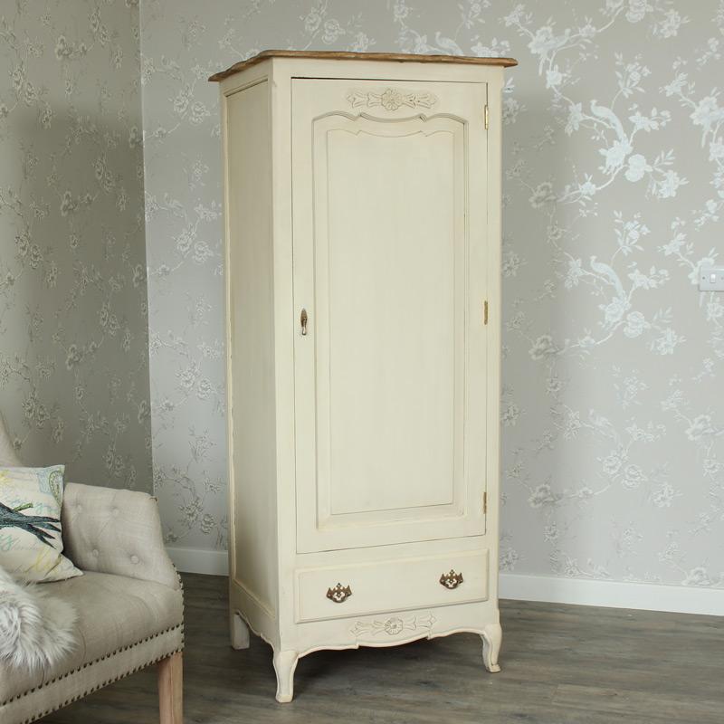 cream single wardrobe - normandy range YDNOXRH