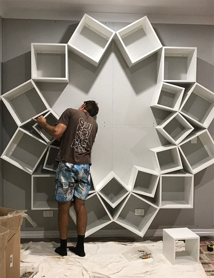creative bookshelf design PVORJPE