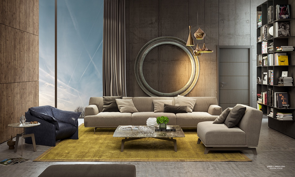 creative living room design 20 creative living rooms for style inspiration PGSVTRJ