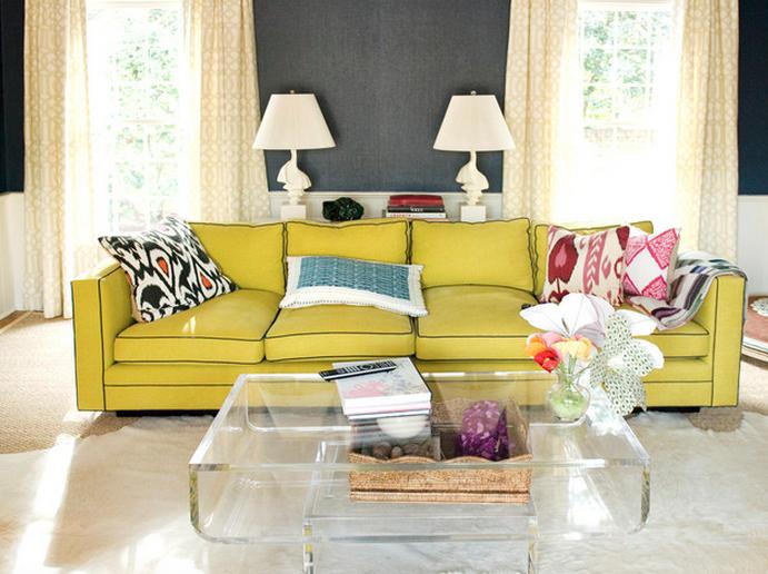 creative living room design ... decorating ideas / living room · source. accent sofa QBTAYWI