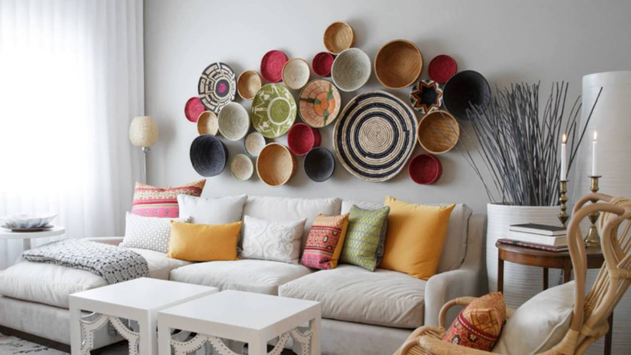 creative living room wall decor ideas SNAWRDI